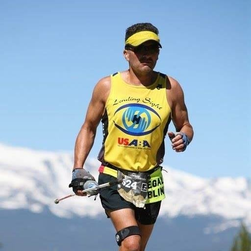 Jason Romero at Leadville 100