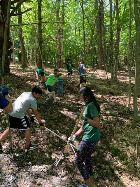 Volunteers Work Tirelessly to Keep Trails in Great Shape