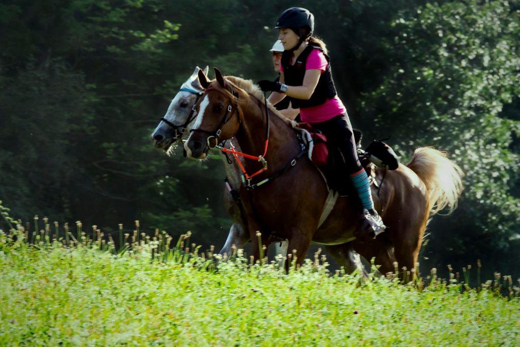 2020-vermont-100-endurance-riders-nancy-and-charlotte-zukewich-grass-fields