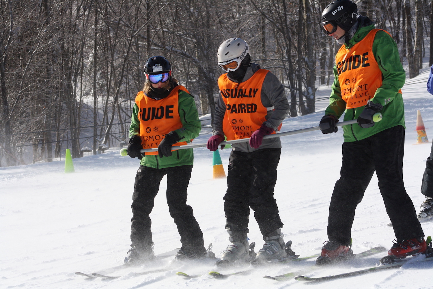 Guiding for a Day — Reflections from the USABA Ski Festival with Vermont Adaptive!